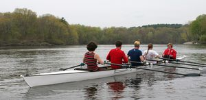 touring rowing boat / quadruple scull