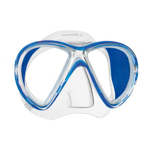 single-pane dive mask / dual-lens