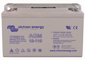12V marine battery / AGM / gel