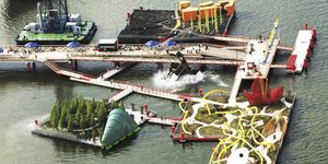 special event floating structure