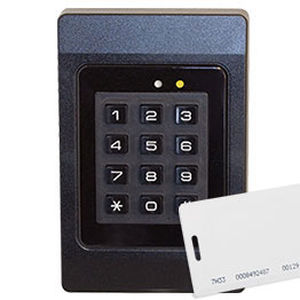 electronic lock / for ships / key card / combination