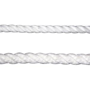 multipurpose cordage / single braid / for sailboats / polyester core