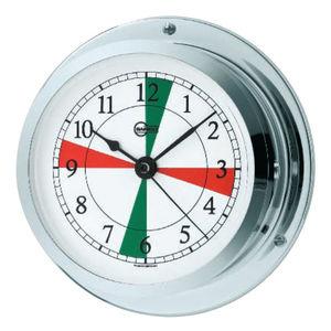 radio sector clock / chrome