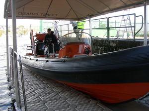 boat shelter / modular floating dock-mounted