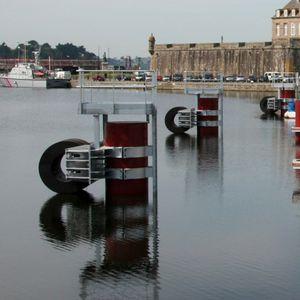 harbor fender / marine / pier / cylindrical