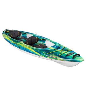 rigid kayak / recreational / tandem / polyethylene