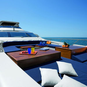exterior decoration marine upholstery fabric / polyester / terry