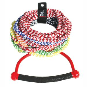 multipurpose cordage / floating / flat braid / water-ski
