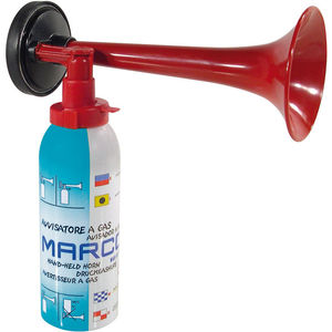 pneumatic horn / for boats / handheld