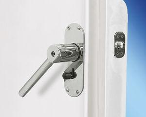 yacht door / weathertight / aluminum