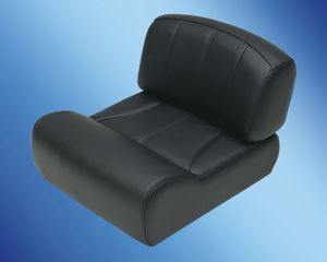 helm seat / for boats / fixed / reclining backrest