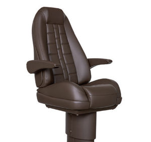 helm seat / for boats / with armrests / high-back