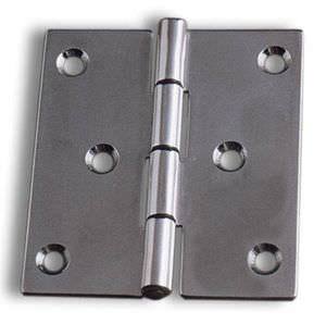 ship hinge / universal / for doors / stainless steel