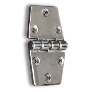 boat hinge / universal / for doors / chrome-plated brass