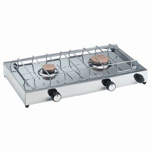 gas stove / for boats / two-burner