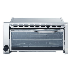 gas oven / for boats / built-in