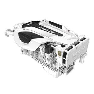 inboard engine / boating / diesel / turbocharged