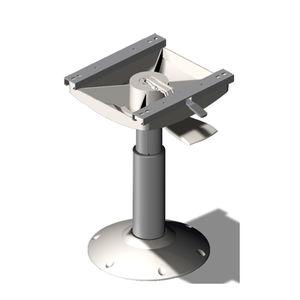 boat helm seat pedestal / adjustable / hydraulic / metal