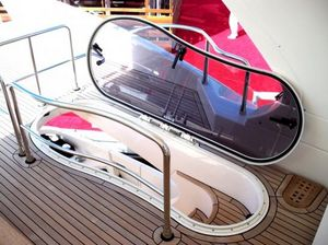 boat deck hatch / for yachts / rectangular / special