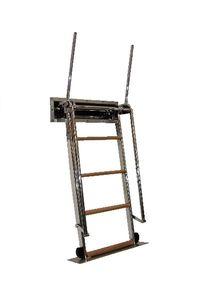 boat ladder / telescopic / retractable / swim