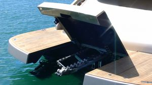 tender lift / yacht-mounted