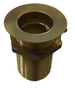 brass boat through-hull fitting