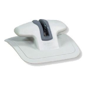inflatable boat mooring cleat / single / rubber