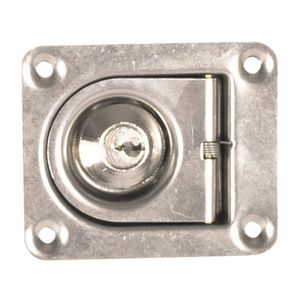 boat latch / cam / for panels / stainless steel