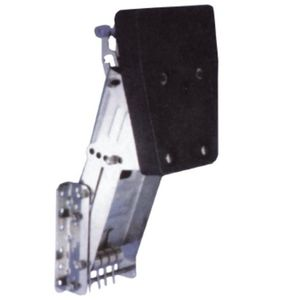 boat engine bracket / adjustable / stainless steel