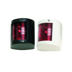 boat navigation lights / incandescent / red / stern