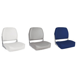 helm seat / for boats / fold-down / 1-person