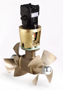 bow thruster / for boats / hydraulic / twin counter-rotating propellers