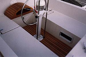 cockpit linings boat decking
