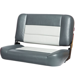 boat bench seat / 2-person / folding