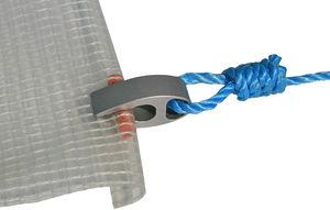 fastening for marine upholstery