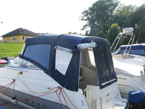 custom cockpit enclosure / power boat