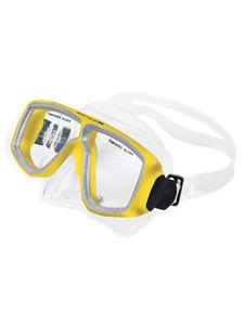 twin-lens dive mask