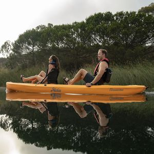 rigid kayak / recreational / fishing / tandem