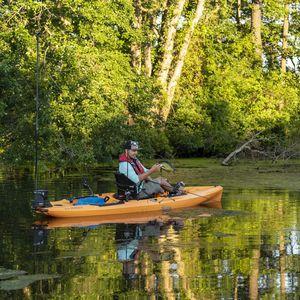 sit-on-top kayak / rigid / expedition / fishing