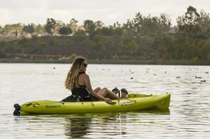 sit-on-top kayak / rigid / recreational / fishing