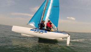 recreational sport catamaran / double-handed / double-trapeze