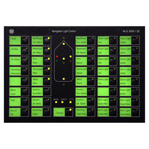 marine monitoring and control panel