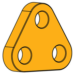 ship towing plate / for tow chains