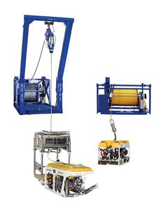 ROV launch and recovery system