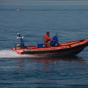 work boat professional boat / rescue boat / outboard / rigid hull inflatable boat