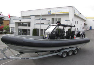 military boat professional boat / outboard / aluminum / rigid hull inflatable boat