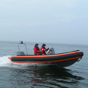 work boat professional boat / outboard / rigid hull inflatable boat