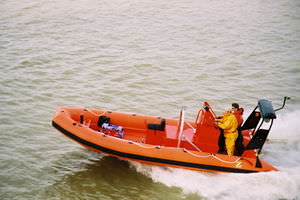 search and rescue boat professional boat / inboard / rigid hull inflatable boat