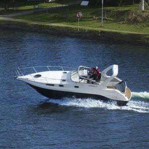 inboard cabin cruiser / open / side console / sport