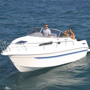 inboard cabin cruiser / open / side console / 7-person max.
